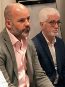 Germán Gomez Picasso y José Rozados